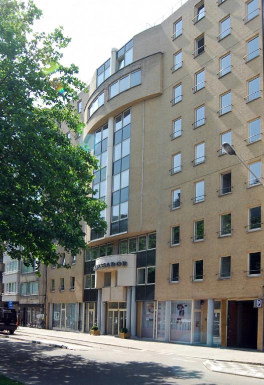 Picture building ambassador suites Antwerp.