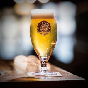 domus bier in glas